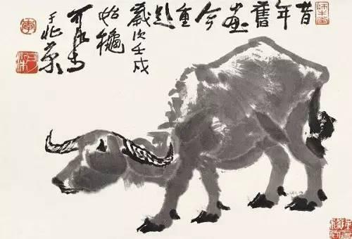 水墨一绝,牛的赞歌!