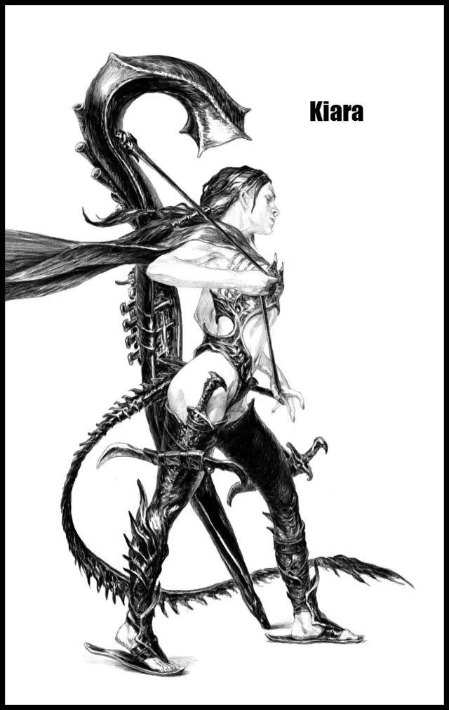 手绘角色插画 | 俄罗斯艺术家Evgeny Tumanis作品欣赏