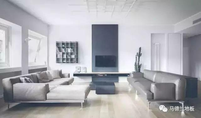 极简风格木地板