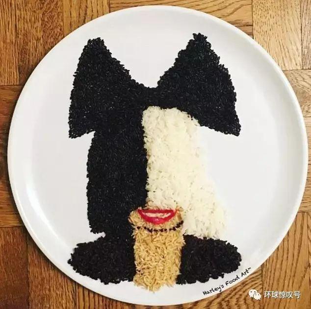 天啦噜!这么多好吃的东西被做成了艺术品,这下是吃还是不吃呢?