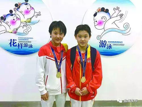 阜宁的小姑娘全运会摘一金一银!还打败了奥运冠军组合!厉害了!
