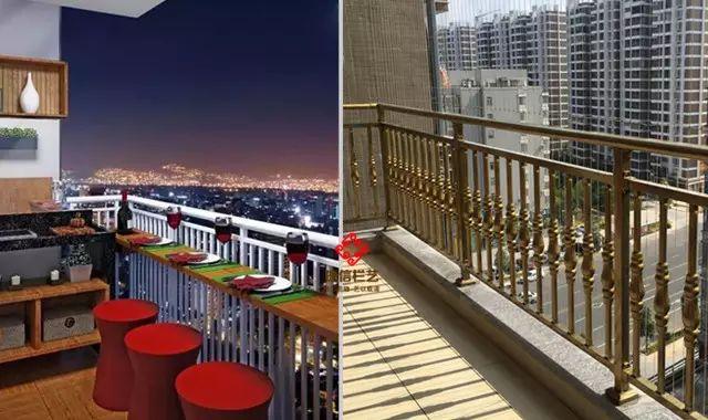 高层小区�u阳台护栏
