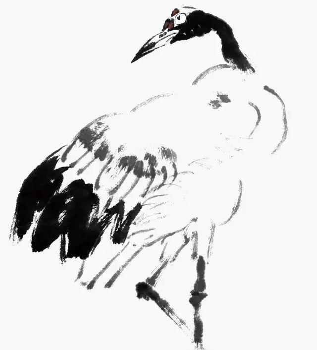 丹顶鹤、芦苇、雪景的画法(上)