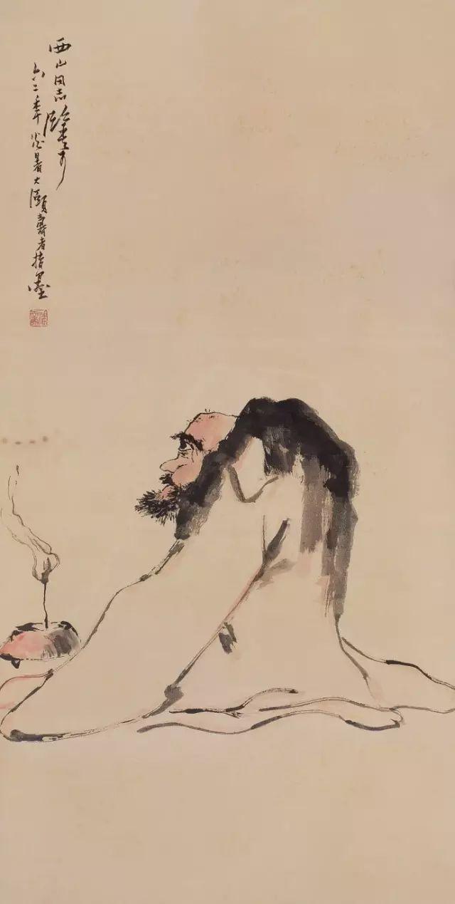 听潘天寿谈画,方知用笔为何老辣