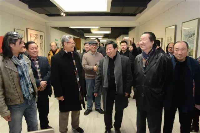 """2016中国国家画院""""一带一路""""采风写生作品展在国展美术中心隆重开幕"""