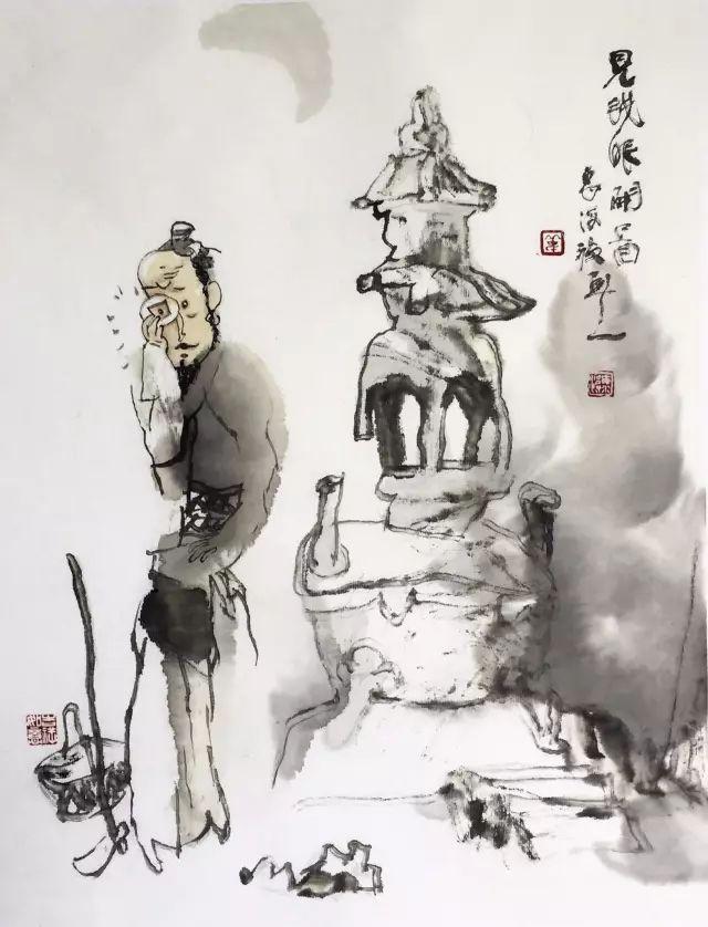 找寻•那点儿意思——岳海波小品画展即将开幕