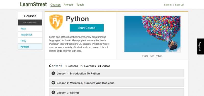 Python入門學習必備的19 個編程資源