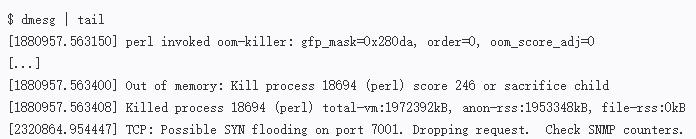 Linux基础教程 | 服务器性能检查只要一分钟,这九条命令来帮你