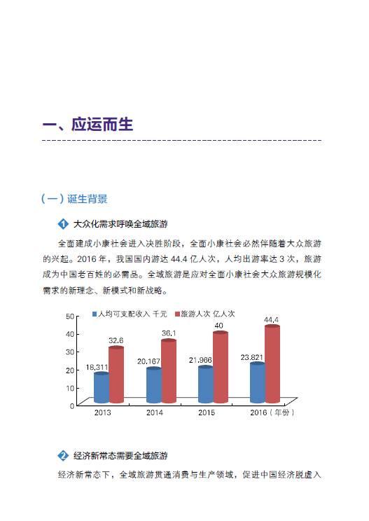 国家旅游局发布《2017全域旅游发展报告》| 凤旅观察