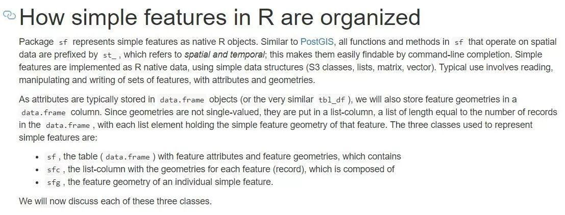 空间数据可视化笔记——simple features空间对象基础- 天善智能