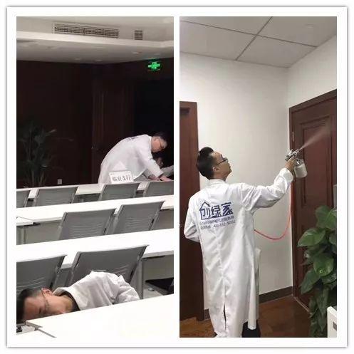 浦发银行室内空气治理