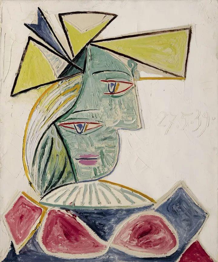 【海外拍卖】毕加索大胆肖像画《戴帽女子头像》瞩目登场纽约蘇富比