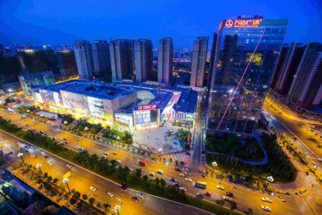 晋江万达城市图