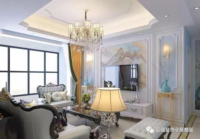 喜欢欧式风格的你,这套装修案例一定要看!客厅美没有之一!|业界动态-德州品诚装饰工程有限公司