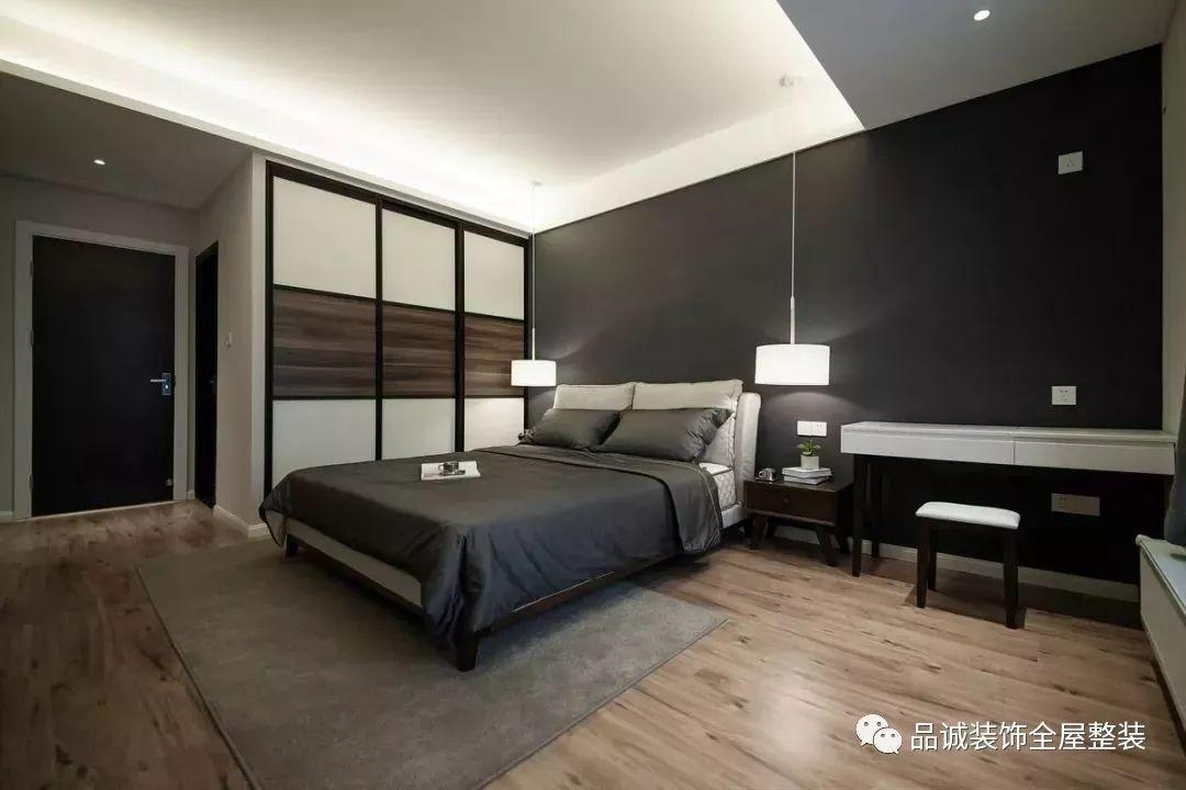 142㎡现代简约风格3室2厅,万人迷的绅士家居空间!|业界动态-德州品诚装饰工程有限公司