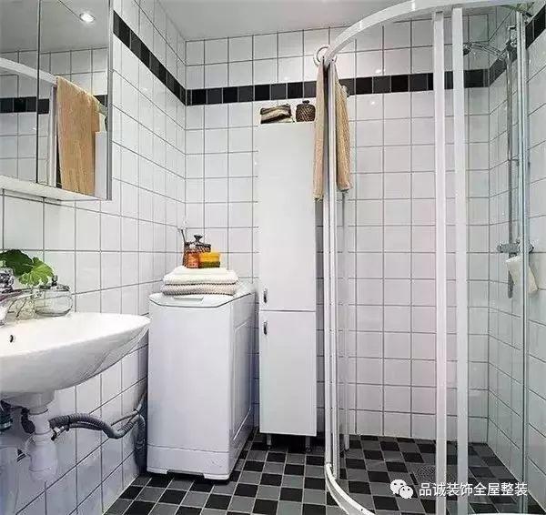 小卫浴间做不了干湿分离?那是因为你没看到这些~ 业界动态-德州品诚装饰工程有限公司