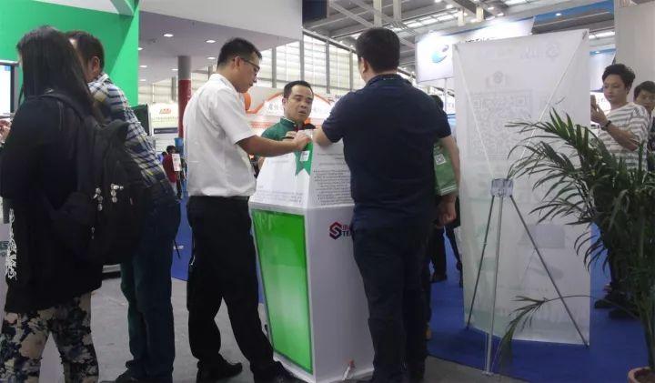 2017深圳安博会-小耳朵电源展位