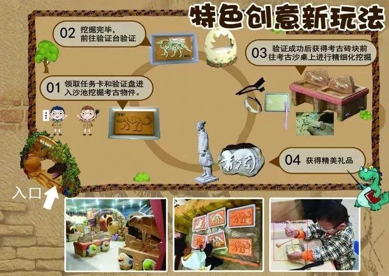 辽宁盘锦mG电子游戏考古馆盛大开业,赶快约起来吧,儿童游乐设备