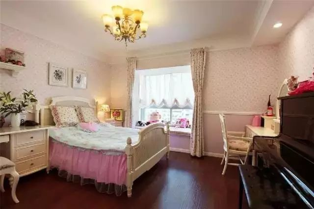 儿童卧室装修效果图·活力可爱儿童房间装修效果图