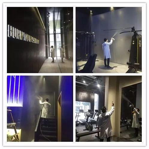 肌动塑体健身房室内空气治理