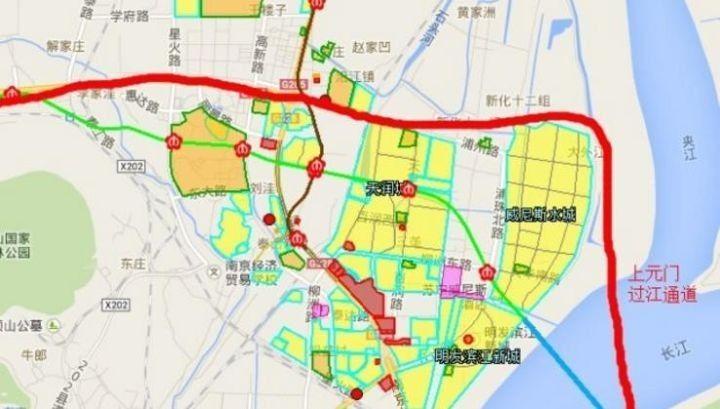 江苏省新一轮过江通道建设全面启动。