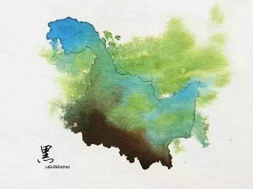 中国34个省市名字的由来,历史课上都没有的知识!——黑龙江