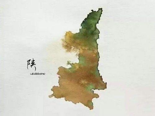 中国34个省市名字的由来,历史课上都没有的知识!——陕西省