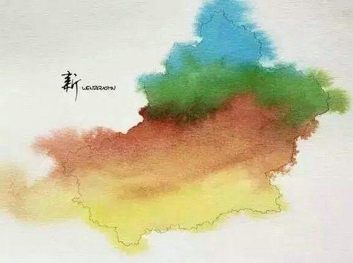 中国34个省市名字的由来,历史课上都没有的知识!——新疆
