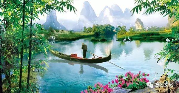 中国人姓名有地域特点:北方比南方略显刚强——风景画