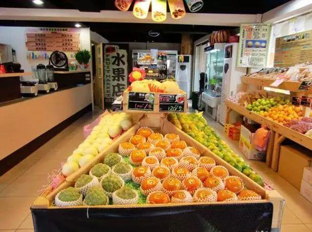 水果店装修效果图·很好的水果店装修方案