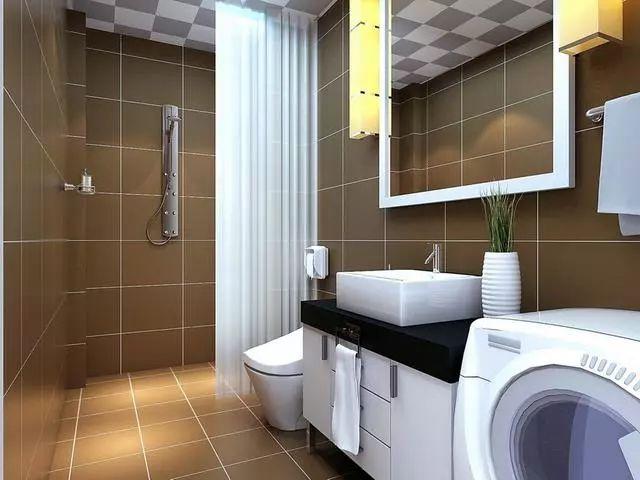 卫浴装修效果图·精致生活卫浴装修图片