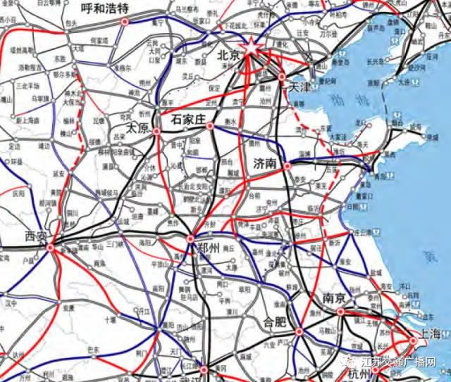 京沪高铁二线直通淮安!淮安高铁站将是5大铁路