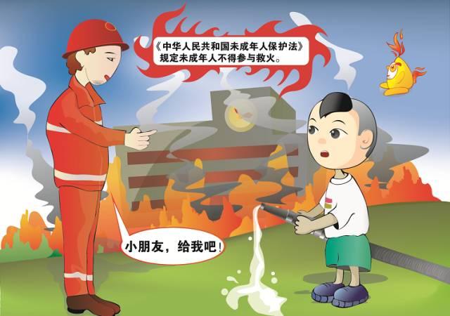 大风降温 防火安全提示