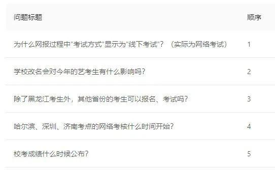 中国传媒大学南广学院2020年艺考网络考核报名常见问题及解决办法